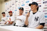 日米野球、松井コーチ「楽しみ」