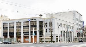 82年の歴史を歩み、現在地での建て替えに伴い営業を終えた福井銀行本店=福井市順化1丁目