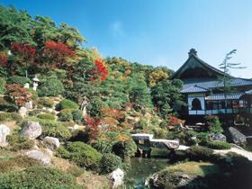 紅葉の季節は絶景 極楽浄土を思わせる美しさ!