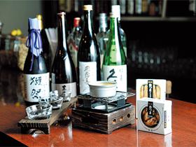 あわら市を盛り上げる、日本酒&缶詰BAR