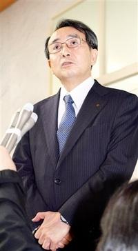 「県との約束守る」 中間貯蔵施設の計画地点公表 関電社長