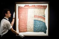 ネルソン提督の英国旗が落札