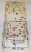 焼失前の辺津宮、絵図複製