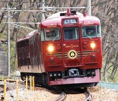 しなの鉄道を走る観光列車「ろくもん」
