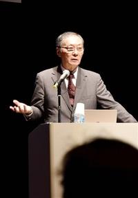 「道三は光秀の敵」 福 井 明智さん先祖語る