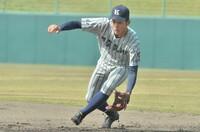 写真特集、春の県高校野球第6日
