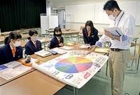 課題探究へ取り組み紹介 武生東高 本紙記者が授業 未来の幸せアクションリサーチ
