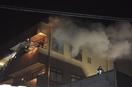 敦賀で30日未明にマンション火災