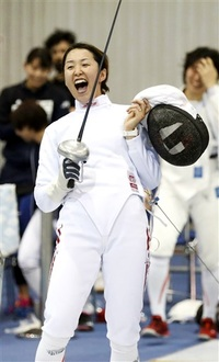 フェンシング女子エペ 佐藤希望 攻撃巧み強きママ剣士 行くぞ県勢2020東京五輪