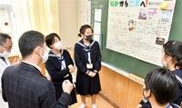 地元企業の魅力発表 丸岡高1年 21社取材、ポスターに
