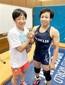 県勢入江、世界選手権へ レスリング女子55キロ級