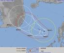 台風24号情報、予想される進路