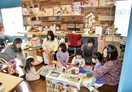 鯖江の「おもちゃ図書館」にぎわい