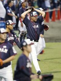 プレミア12、日本が強化試合