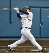 吉田正尚が実戦復帰、先制本塁打