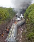 中国湖南省で列車脱線、1人死亡