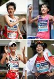 マラソン代表、男子は中村と服部