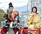 勝家公、お市の方、笑顔も日本一