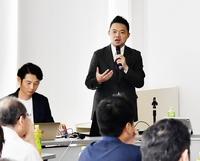 就職熱意ある韓国人学生と対面を