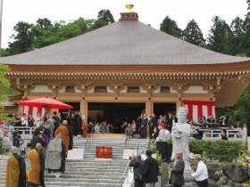 曹洞宗大本山總持寺(横浜市)の開祖 螢山禅師出生の地