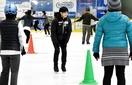 小塚崇彦さん、敦賀でスケート教室