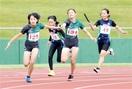 跳ぶ走る 350人全力 県小学生秋季 6種目で…