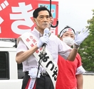 現職松崎氏が4期連続無投票当選