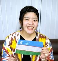 ウズベキスタンで青年協力隊員として2年間活動した藤木唯さん=福井県越前市