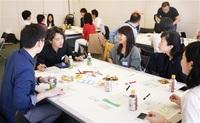 古里とネット中継、交流 東京で地方活性化策探る