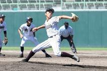 【写真】高校野球、武生商業―奥越明成