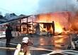 あわら市で火事、住宅など6棟焼く