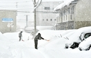 福井市で37年ぶりの大雪記録