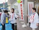 台風19号の義援金買い物客から募る 越前市