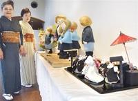 伝統手芸と紙粘土緻密作品コラボ展 越前市のギャラリー