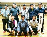福井県庁、日本L昇格 Sテニス入れ替え戦 3戦全勝V