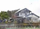 福井市安居地区で火事、住宅全焼
