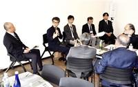 製品開発へ産学連携 「ウエアラブル」テーマ 鯖江で交流会