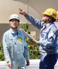 新規制工事終了 大飯原発で確認 杉本知事が視察