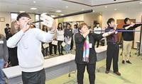 高齢者支える地域 探る 県立大生が「永平寺町学」 住民と座談会、交流 「若者との関わり」望む声