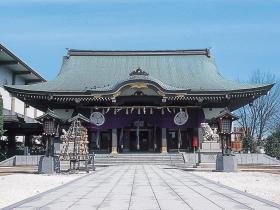 福井市中心部の「さかえのみやさん」
