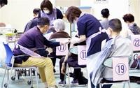 坂井市75歳以上のワクチン個別接種 12機関で初日235人
