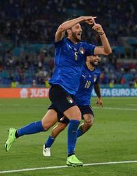 イタリア、2連勝で決勝T進出