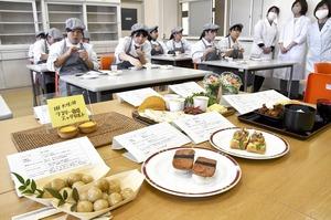 奥越明成高生、食で道の駅…
