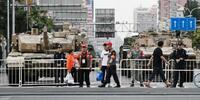 中国、建国70年へ演習