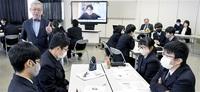 原発 高校生が活発議論 核ごみ問題など 福井南で特別授業 「中立の立場で考える必要」