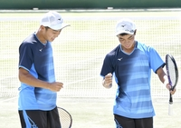 ソフトテニス男子個人、金津が5回戦で敗れる 選手にインタビュー 北信越インターハイ2021 #きみあせ