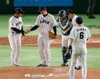 日米野球、日本代表が初黒星