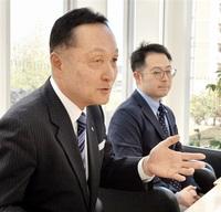 「TOKO」へ社名変更 65周年 東工シャッター(鯖江) 社長が本社で抱負
