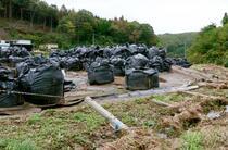 「大型サイド」大雨で除染廃棄物流出 再発防げず管理不備露呈