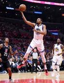 米NBA、ウォリアーズが2勝目